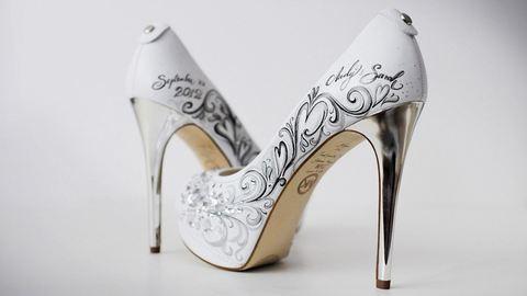 Ilyen esküvői cipőt te is akarsz! – fotók