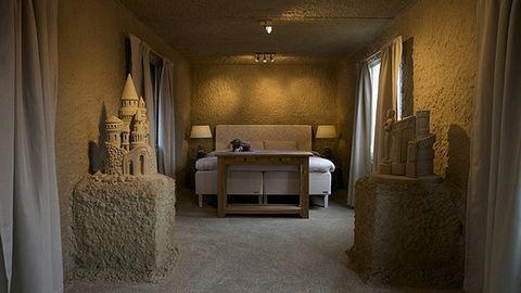 Homokból épült a hotel – fotók