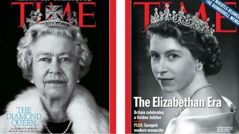 63 éve a trónon – 12 címlap II. Erzsébetről