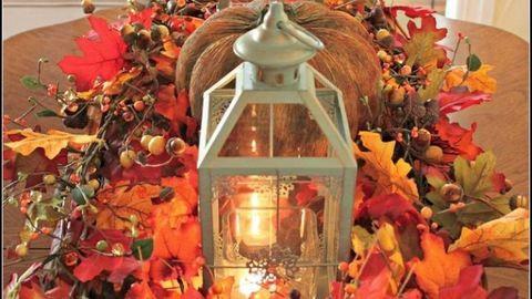 4 gyönyörű őszi dekoráció a konyhába