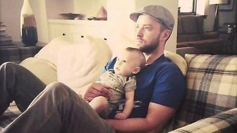 Megőrülsz, olyan édes Justin Timberlake kisfia – fotó