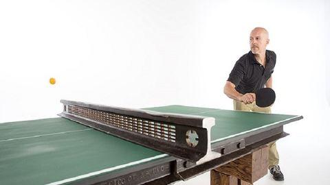 110 éves vasúti sínből lett a legmenőbb pingpongasztal