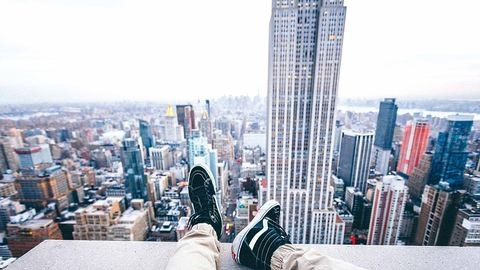 New York-i tini a világ tetején – fotók csak erős idegzetűeknek