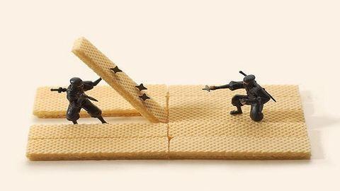 Ezektől az elképesztő miniatűr jelenetektől eldobod az agyad
