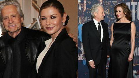 A legédesebb képek Catherine Zeta-Jones és Michael Douglas születésnapjára