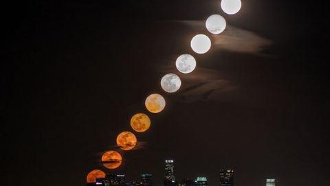 11 gyönyörű fotó egy képen – Los Angeles fölött az ég
