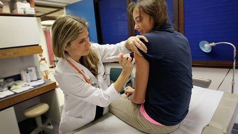 Az iskolás lányok több mint háromnegyede kérte a HPV-oltást
