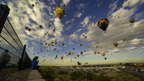 Gyönyörű látvány a világ legnagyobb hőlégballon-fesztiválja – fotók