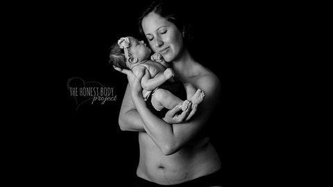 A női test szépsége szülés után – fotók