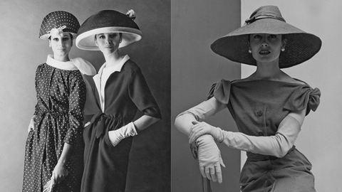 Francia sikk: divatfotók az 50-es évekből