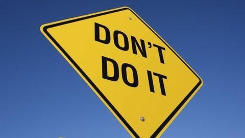 4 dolog, amit azonnal abba kell hagynod