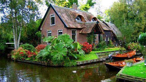 Holland csodaházak, ahová te is szívesen beköltöznél – fotók