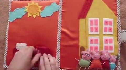 Kreatív könyv a gyereknek, amit te is elkészíthetsz - videó