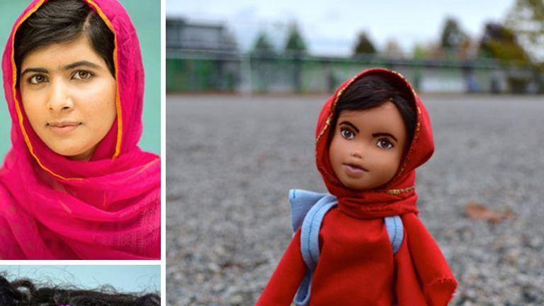 Agyonsminkelt Disney-babák helyett itt a Malala és a J. K. Rowling játék baba! – fotók