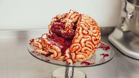 Így készül az agy formájú süti Halloweenre!