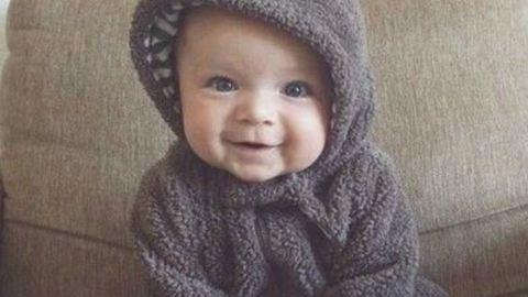 Ennek a babának a nevetésétől te is jobb kedvre derülsz – videó