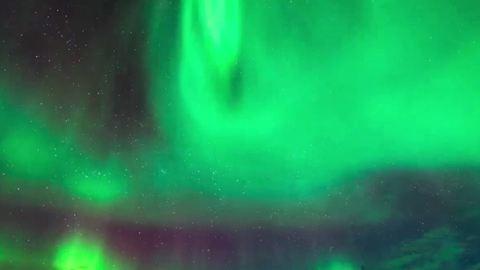 Hipnotikus videó az északi fényről