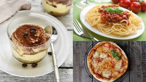 Olasz klasszikusok házilag: pizza, bolognai, tiramisu