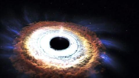 Szédületes videó: egy csillag halála a galaxisban