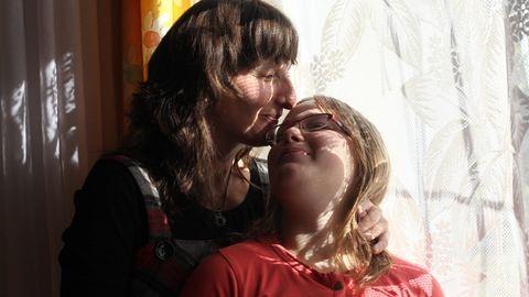 """""""Alkut kötöttem a Jóistennel: engedje meg, hogy a gyerekem arcát még láthassam"""" – egy vak édesanya története"""