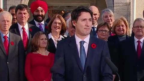 Ugyanannyi nő minisztere van új kanadai kormánynak, mint ahány férfi