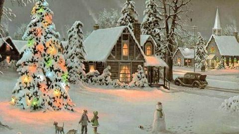 15 karácsonyi kép a múltból