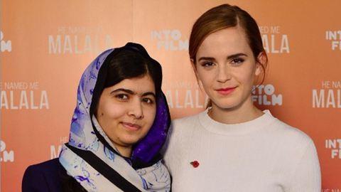 Emma Watson hatására lett feminista Malala Juszafzai