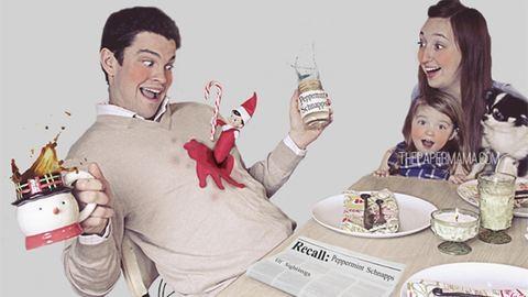 15 végtelenül kínos családi, karácsonyi képeslap
