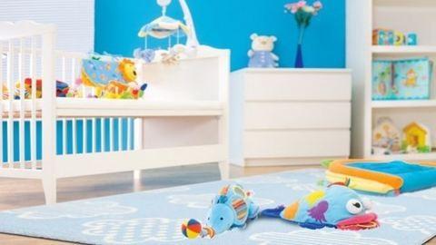 Milyen legyen a gyerekszoba padlója és fala?