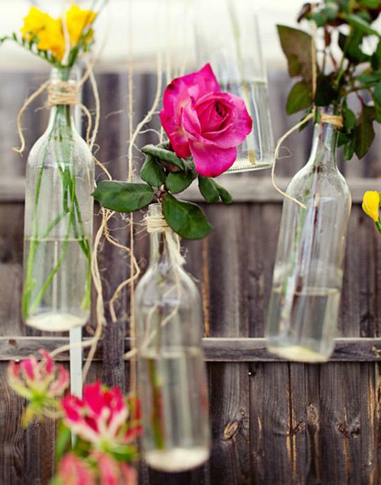 10 menő dekoráció borosüvegből
