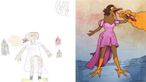 Megvalósult gyerekálmok – gyerekrajzokat gondolnak újra művészek