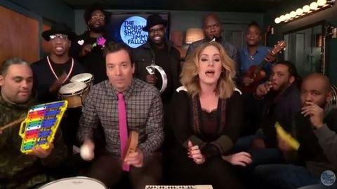 Adele Jimmy Fallon műsorában is lenyomta a Hellót – hallgasd meg a végeredményt