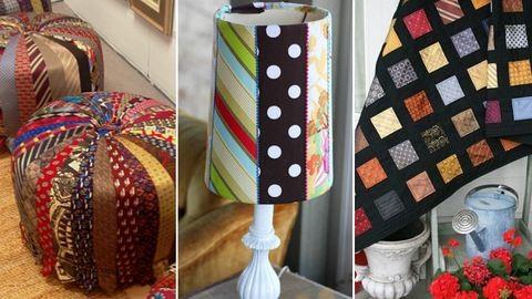 Így dekoráld az otthonod nyakkendővel – 10 inspirációs ötlet