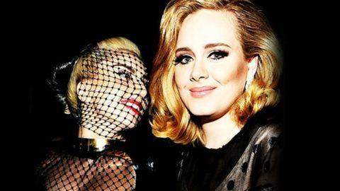 Adele és Lady Gaga dögös testőrön osztozik