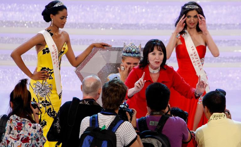 Julia Morley a Miss World elnöke