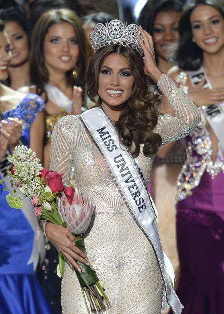 A 2013-as Miss Universe, a venezuelai Gabriela Isler
