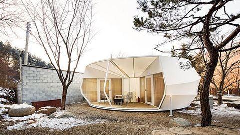 Ebben a sátorban igazi luxus a kempingezés