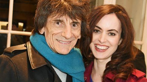 68 évesen lesz apa a Rolling Stones tagja, Ronnie Wood