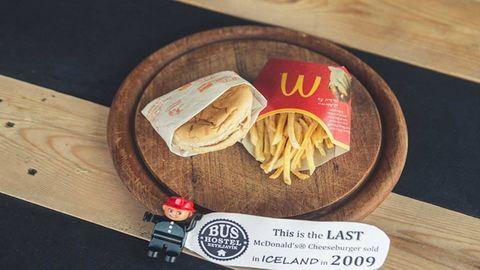 Hat év alatt semmit sem változott a McDonald'sos sajtburger