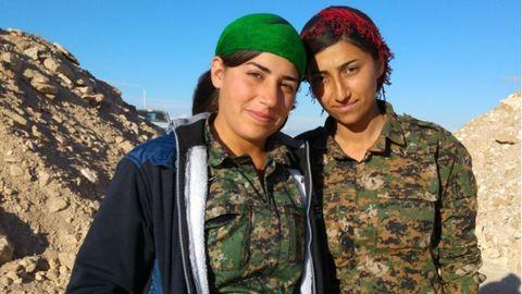 Szíriai keresztény női hadosztály állt fel az Iszlám Állam ellen