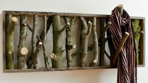 8 ötletes lakásdekor faágból