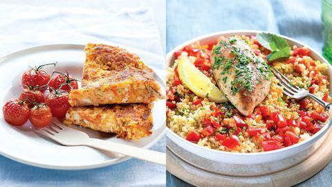 Citromos csirkepaprikás és sonkás túrós lepény: 2 diétás ünnepi recept