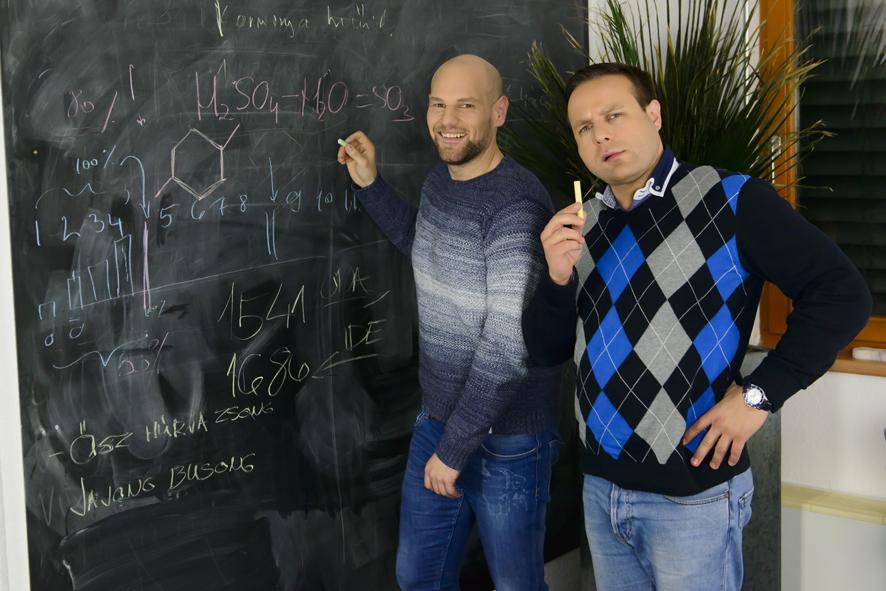 Kocsis Tibor és Bagi Iván