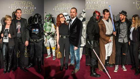 Magyar sztárparádé a Star Wars premieren – 76 kép