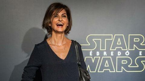 Ilyen dögös a 42 éves Varga Izabella a Star Wars premierjén