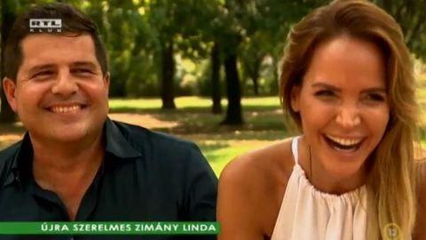 Zimány Linda és Kedves Ferenc családot alapít