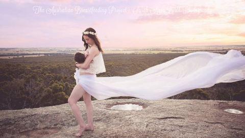 Csodaszép fotók szoptatós kismamákról