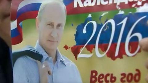 Megjött a 2016-os Putyin-naptár!