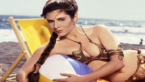 Így népszerűsítette A jedi visszatér premierjét a szexi Leia hercegnő – fotók