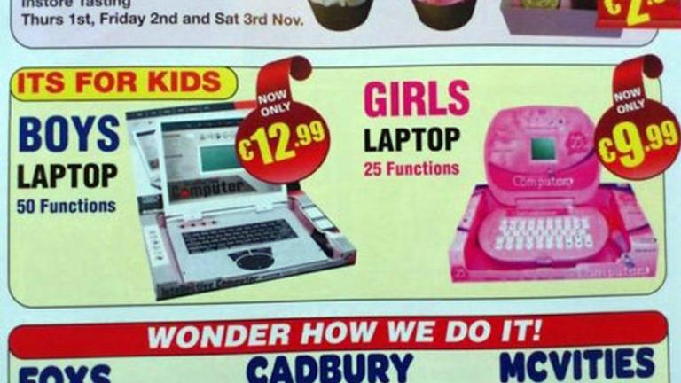 Laptop fiúknak, laptop lányoknak - hát nem édi? Nem!